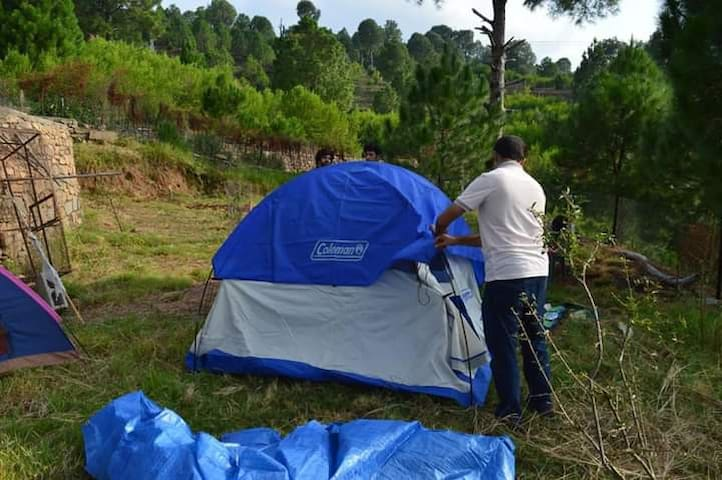 Bornfree camping ground