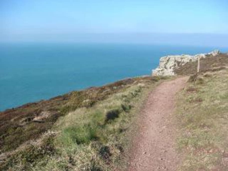 Stunning coastal walks nearby