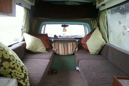 Cosy Campervan in the Garden - Cardiff