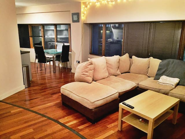 Spacious apartment in incredibly central location - Bristol - Pis