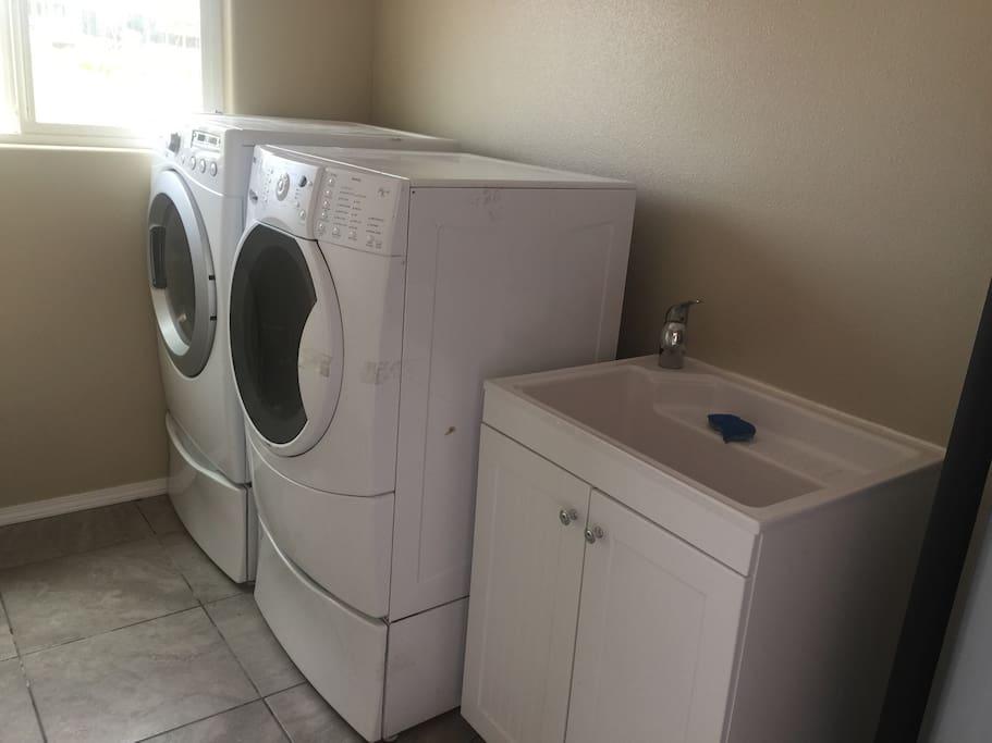 Separate laundry facilities