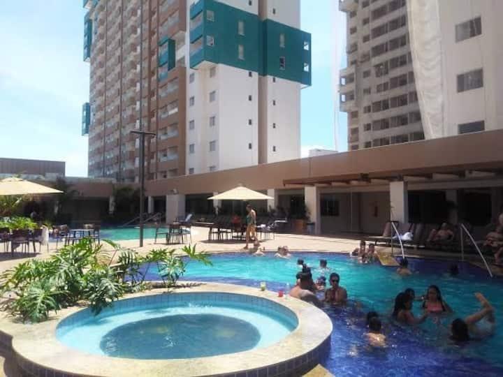 Apart Hotel Olímpia Park Resort para 08 hóspedes