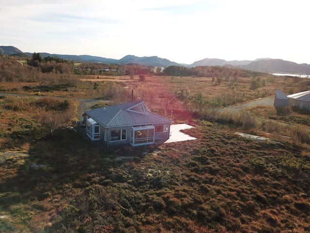 Cabin from Drone