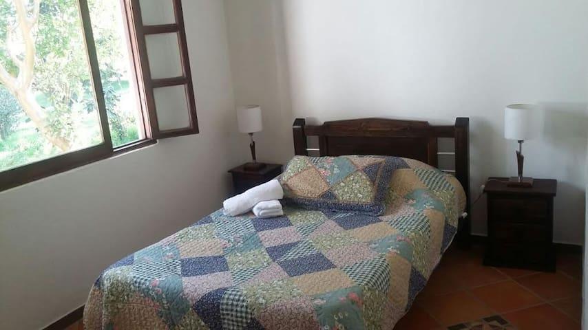 Habitación  Paz 1 Persona Baño Compartido - Villa de Leyva - Daire