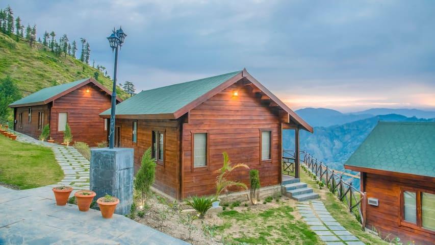 Woodays Resort   Luxury Hut   Bliss in Hills