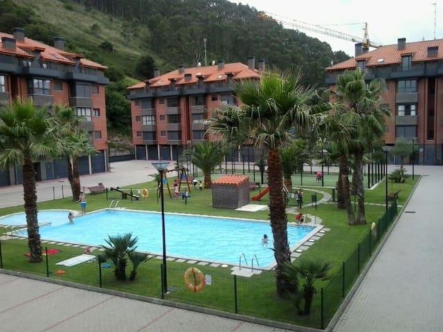 Apartamento nuevo en urbanización privada - Cantabria - Appartement