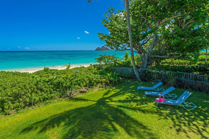 """*LANI KAI""""--Beachfront Hawaiia luxury villa"""