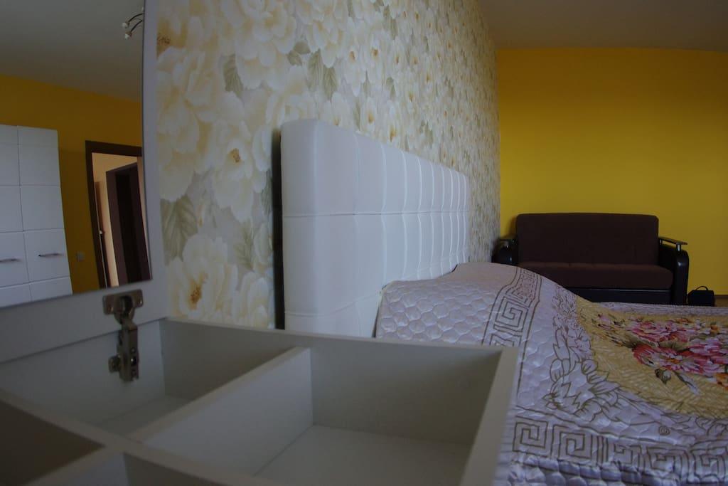 Светлая, чистая , просторная квартира, сделано для Вас , с любовью.