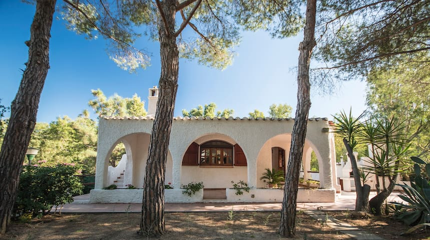 Charming Villa with large garden near the beach !
