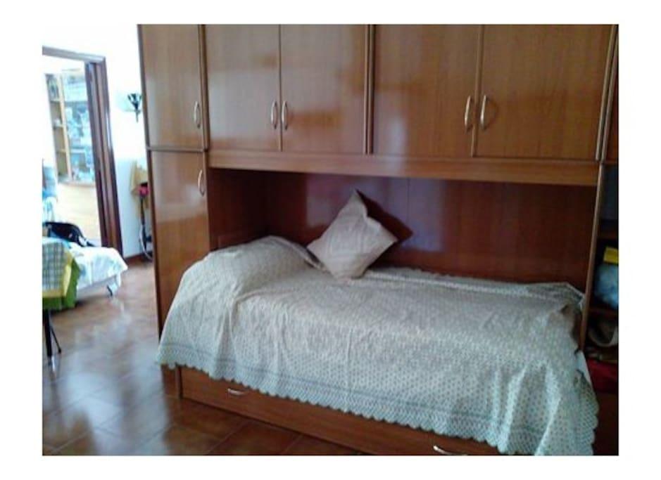 Спальное место в гостинной