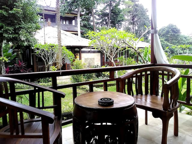 2 Bungalows with Yoga hall Garden View