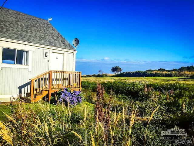 Oceanfront Cottage sleeps 8 - Yachats - Apartment