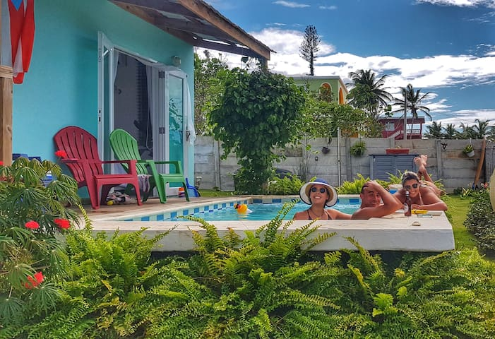 House VillaCecilia Puerto Rico. Sea view.
