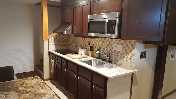 Private Guest Suite  in Waukee / Basement