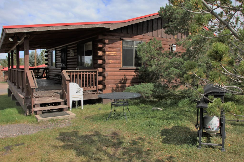 Family cabin 5 with a beautiful view cabins for rent in for Cabins to rent in greer az
