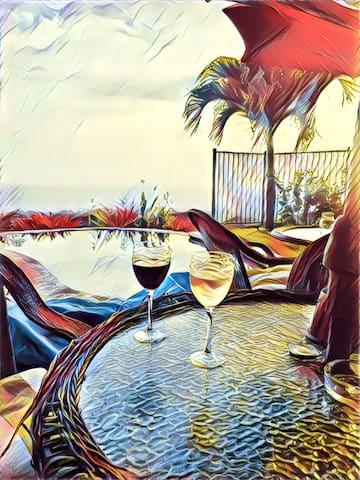 Wine and the Pacific