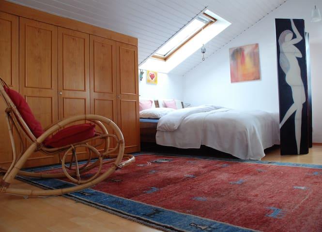 Loftwohnung im Voralpenland - Aying - Loft