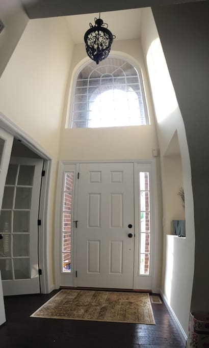 Beautiful two-story entryway!