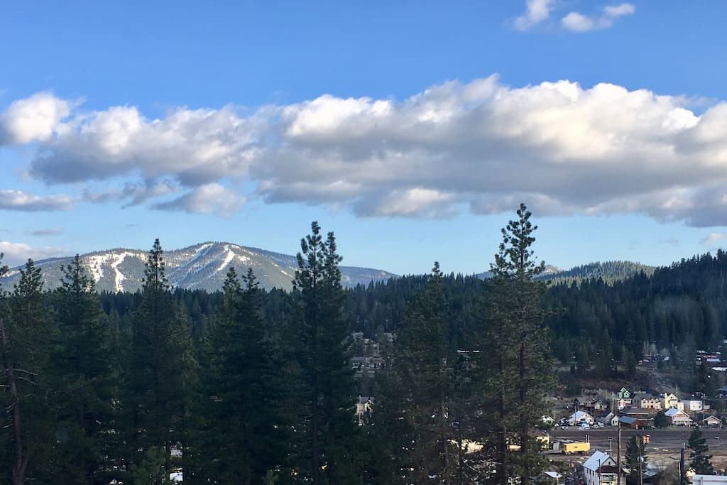 Views of downtown Truckee and Northstar.
