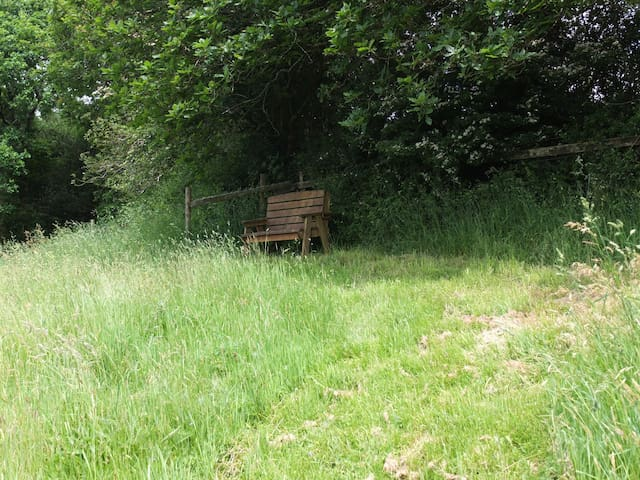 Seating at the top of the hill