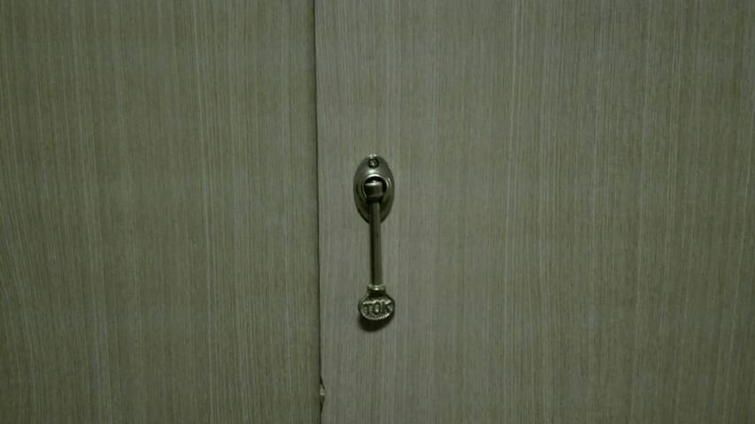 All doors have an inside key.
