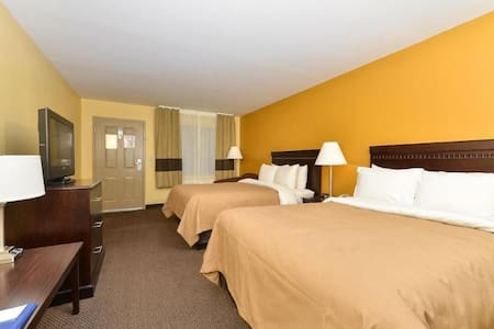 ♛♛♛ Fancy Double Two Double Beds Non Smoking At Perry ♛♛♛