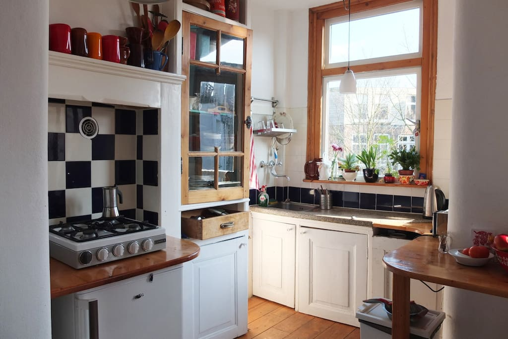 Lovely, cosy kitchen with traditional elements