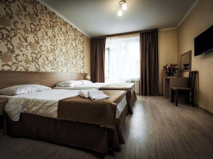 Triple Room. Elpida, boutique hotel