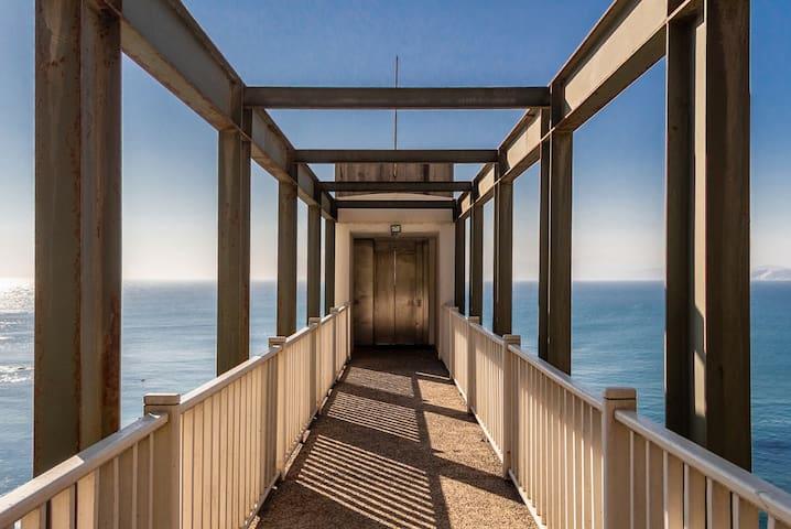 Horcón primera línea sobre el mar