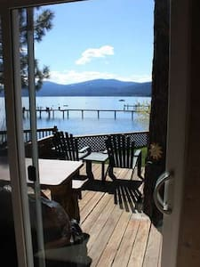 Goose House - Charming updated lake front pano views, firepit - Kings Beach - Casa