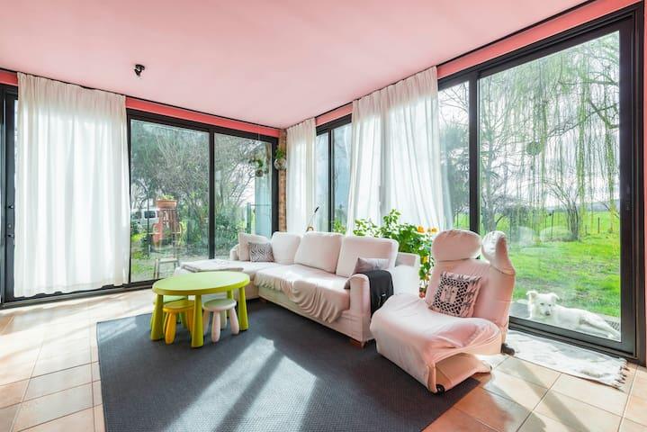 Relax a due passi dalla città - Fogliano - Haus