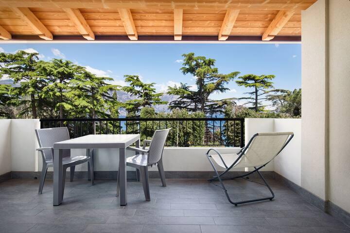Casa Dosso Ferri 15-A Malcesine con vista lago