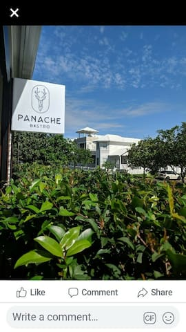 Panache Bistro Canadian and Australian Cuisine 2 minute walk