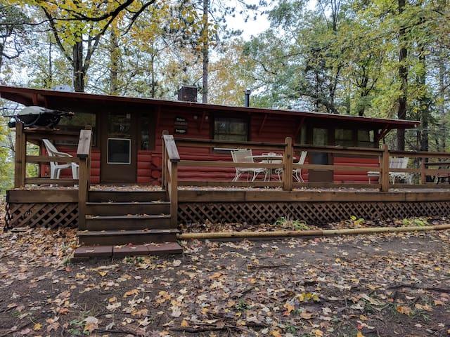Cabin on Rice Lake/Mississippi River - OLE