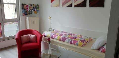 1-Raum-Appartment mit Bad und Kitchenette