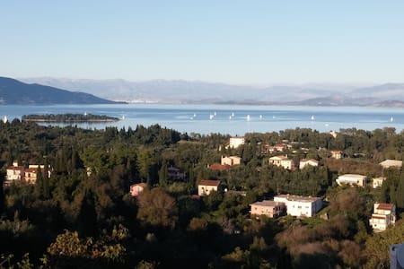Panoramic View of Corfu Island - Evropouli - Lägenhet