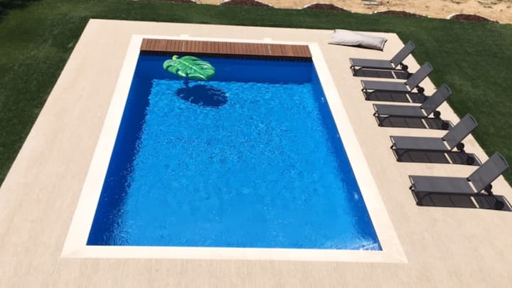 Charming flat ★ private pool ★ BBQ ★ wine tours