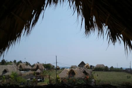 La Palapa - Lovely ocean view bungalow in Paredon - El Paredon - Talo