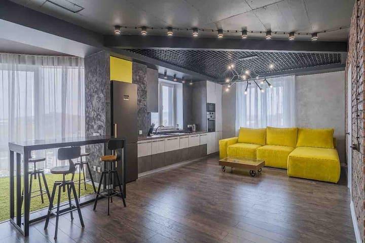 Great  квартира с отличным видом и расположением