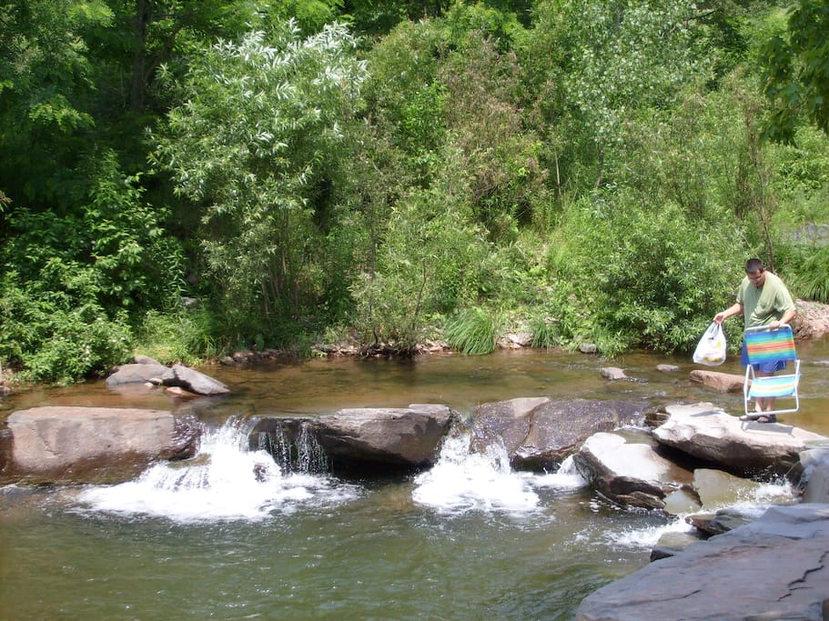 Swimming Hole where locals cool off