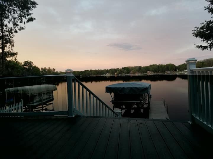 Amazing Lakefront Getaway!  Just Remodeled!