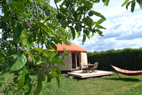 Séjour bien-être en Yourte avec sauna