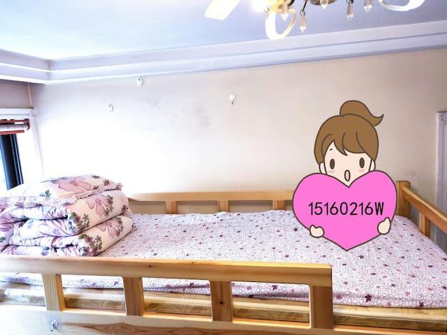 青岛五四广场/地铁站/万象城青年旅舍四人间床位房