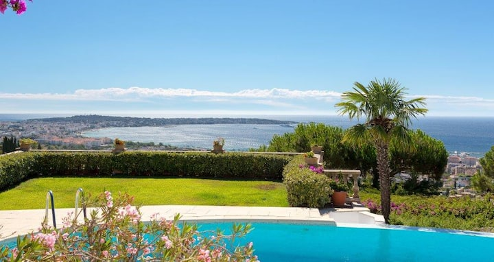 Fantastic villa - 10 min from Cannes and Antibes