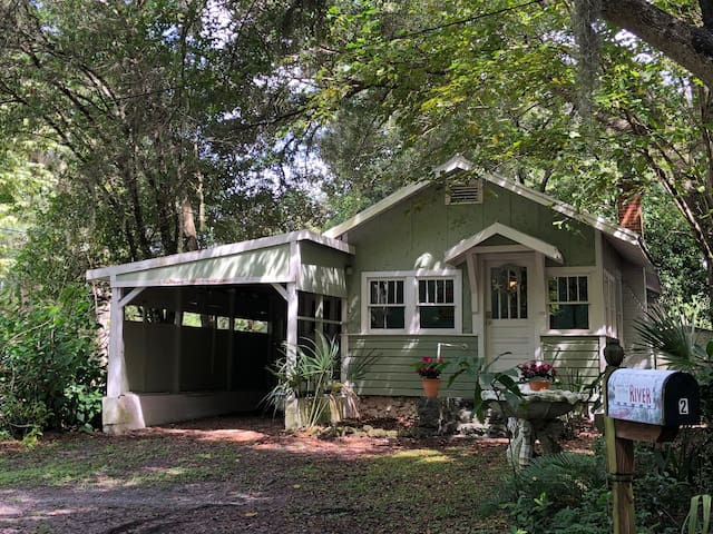 Cattail Creek Cottage - Yankeetown, FL