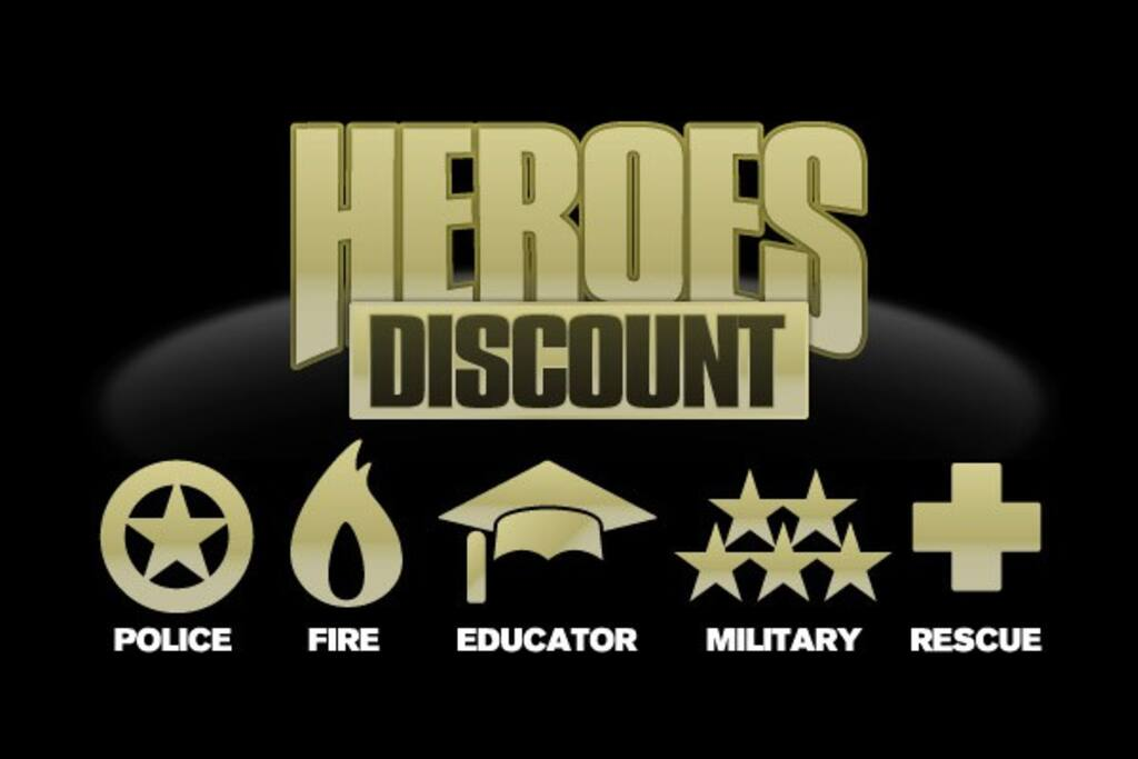 HEROES Discount: Thank You For All You Do