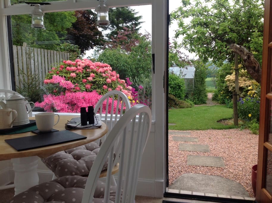 Relax with a cuppa... and a view