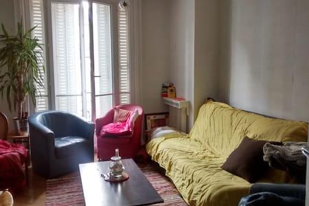 Chambre dans appartement 90m2 proche RER Vincennes - Vincennes