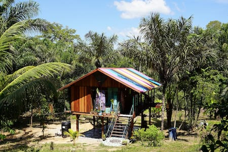 Enjoy Nature, Art & Relax @ Anouk's Junglehouse