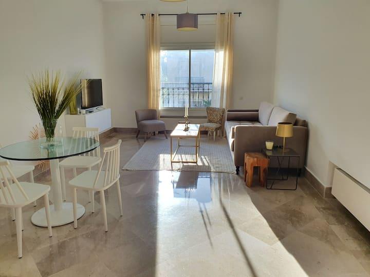 Majestic Malaga: Apt de luxe entre Marsa&Carthage